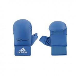 adidas WKF Karatehandschoen Met Duim Blauw