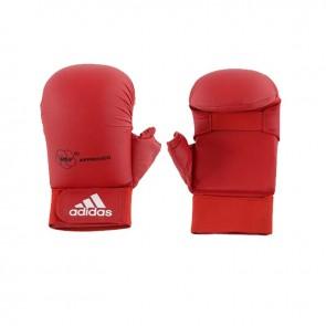 adidas WKF Karatehandschoen Met Duim Rood