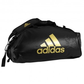 adidas Training Sporttas Combat 2 in 1 Zwart/Goud