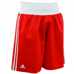 adidas Amateur Boxing Short Rood/Wit Extra Large