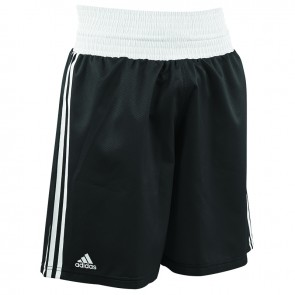 adidas Amateur Boxing Short Lightweight Zwart/Wit