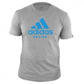 adidas T-Shirt Boxing Community Grijs/Blauw