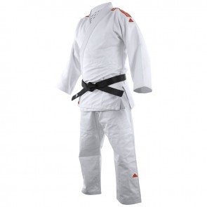 Adidas Judopak J650 Contest Wit/Rood