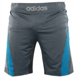adidas Fluid Technique MMA Short Grijs/Blauw