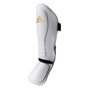 adidas Speed Thai Shin-In-Step Scheenbeschermers Wit/Goud (Protectie)