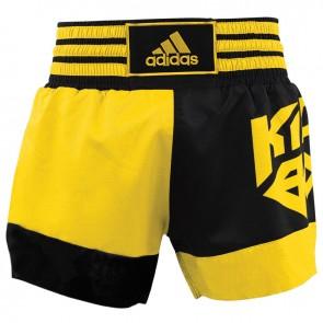 adidas Kickboksshort SKB02 Zwart/Shock Yellow (Kleding)