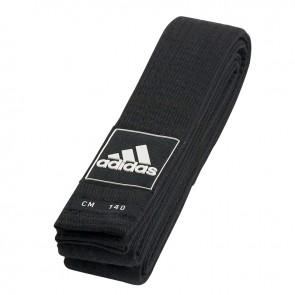adidas Taekwondo Competitie Budoband Junior Zwart 43mm