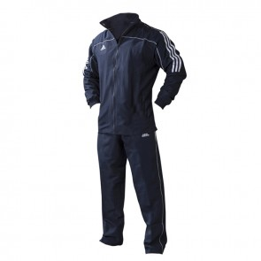 adidas Team Track Trainingsjack Blauw/Wit