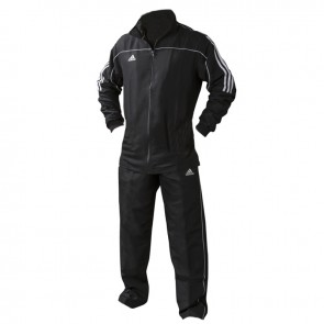 adidas Team Track Trainingsbroek Zwart/Wit