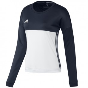 adidas T16 Crew Sweater Women Blauw