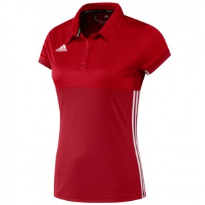 adidas T16 ClimaCool Polo Women Rood
