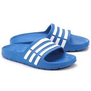 89c6840c463 adidas Slippers Duramo Slide Junior Blauw