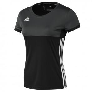 adidas T16 Clima Tee Women Zwart PinkBoxing Logo